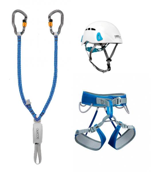 Verleih - Gurt, Klettersteig Set, Helm