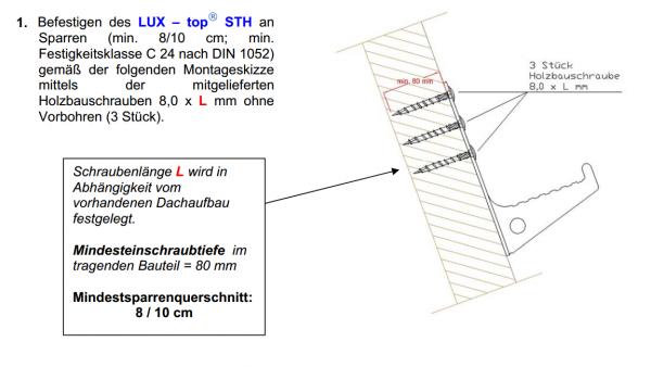 Turmtritt LUX-top® STH
