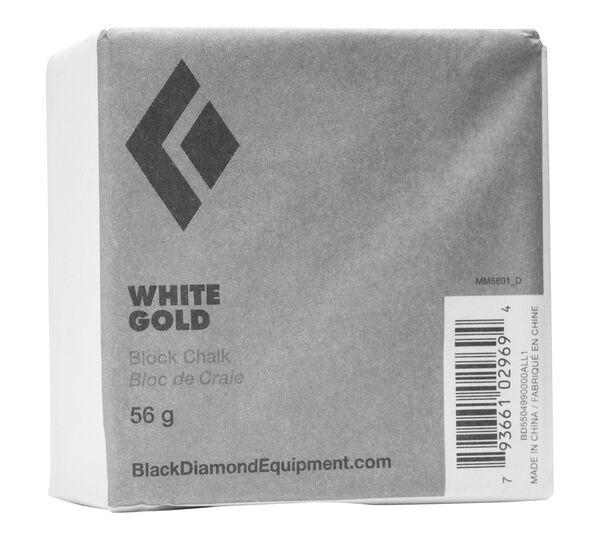 Black Diamond White Gold Block Chalk 56g